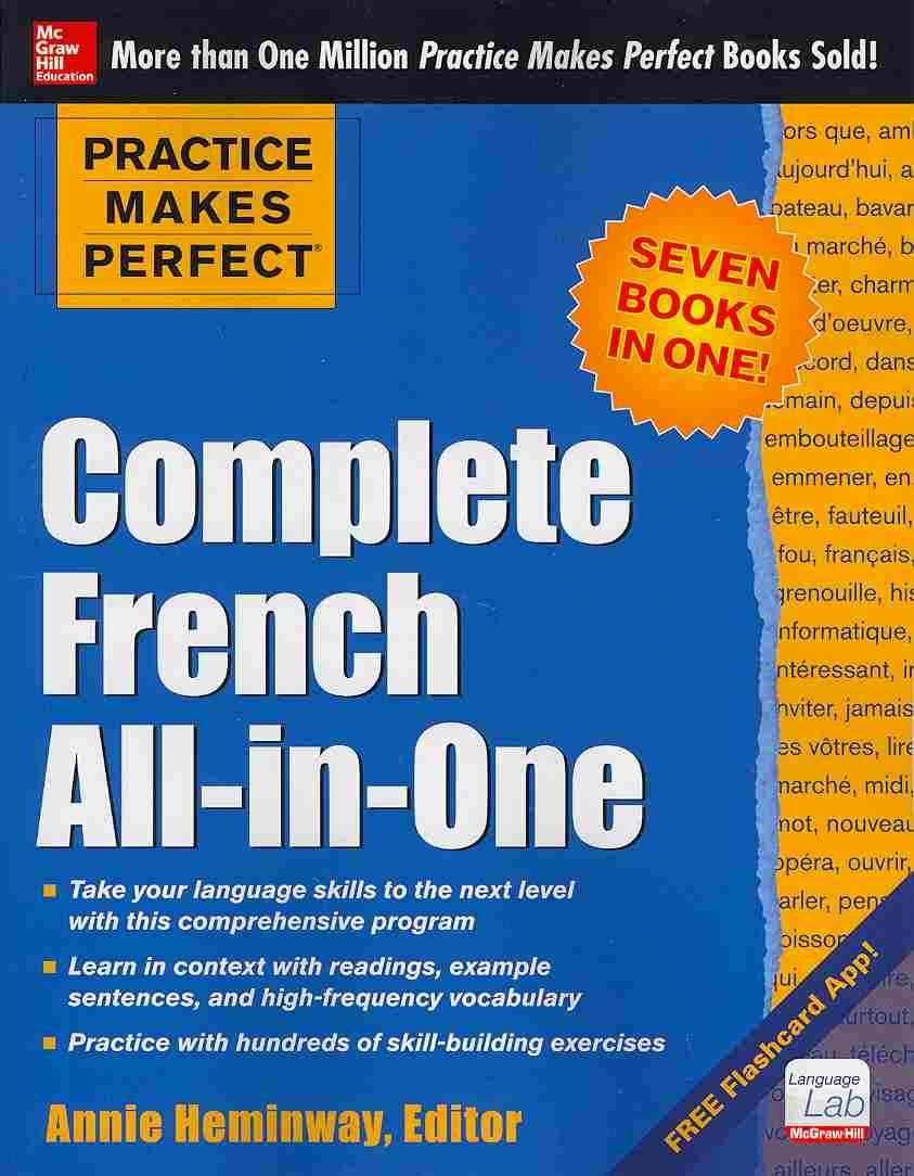 Complete French All-in-one By Heminway, Annie